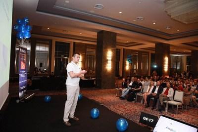 Huobi Global CEO, Livio Weng, in Turkey