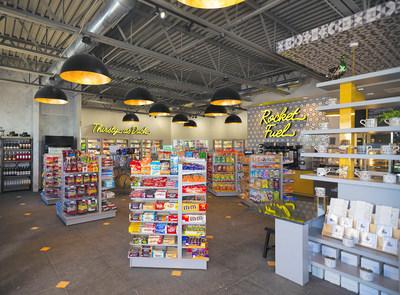 Interior shot of Rogers Market C-Store.