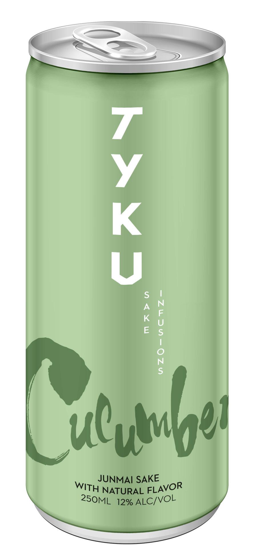 NEW - TYKU Cucumber Sake Can 250ml (RTD)