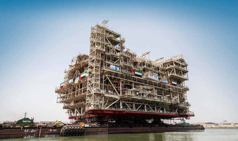 NPCC Abu Dhabi - completion of one of the worlds largest offshore oil platforms for ADNOC