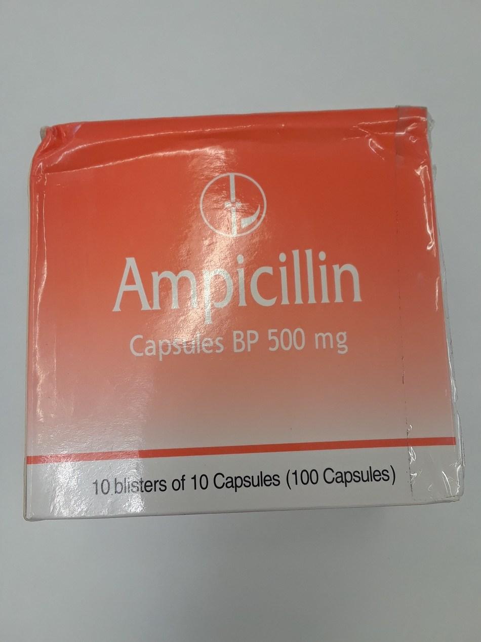 Ampicillin 500 mg (CNW Group/Health Canada)