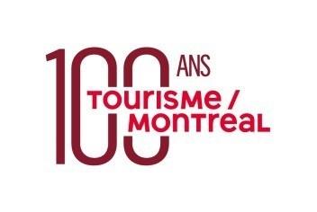 Logo: 100 ans Tourisme Montréal (CNW Group/Palais des congrès de Montréal)