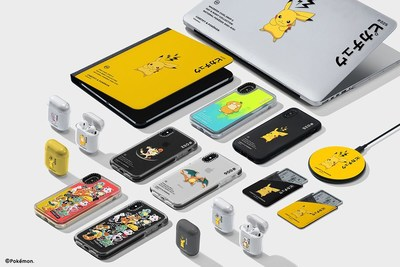 CASETiFY Teams Up with The Pokemon Company for a Second Release of Tech Accessories after First Collection Sells Out within 72 Hours