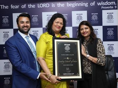 Ryan International School, Greater Noida Awarded 'Leading Schools of India'