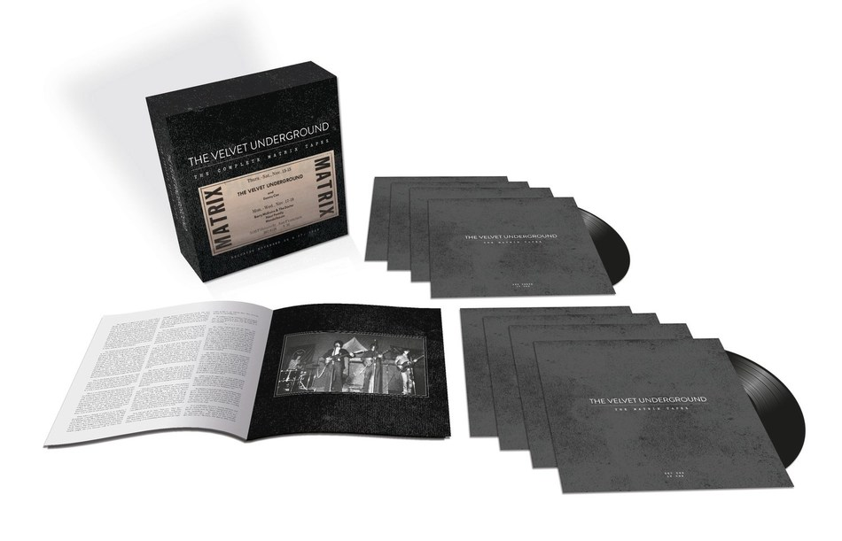 'THE VELVET UNDERGROUND – THE COMPLETE MATRIX TAPES' LIMITED EDITION, EIGHT-LP VINYL BOX SET TO BE RELEASED ON JULY 12
