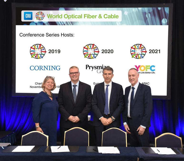 Corning Incorporated to Host the CRU World Optical Fiber