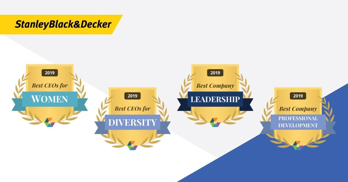 25bd39aac74 Stanley Black & Decker Wins Comparably Awards: Best CEO For Women ...