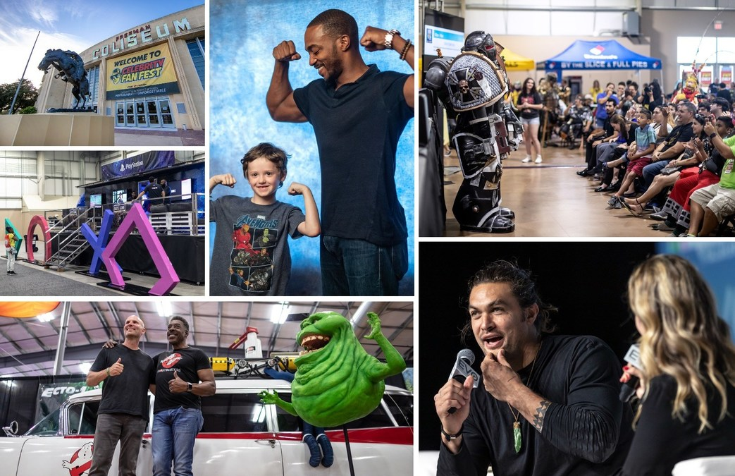 Celebrity Fan Fest Draws National and International Audience