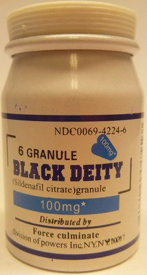 Black Deity 100mg (CNW Group/Health Canada)