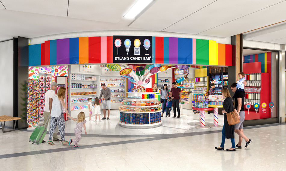 Dylan's Candy Bar (CNW Group/Ottawa International Airport Authority)
