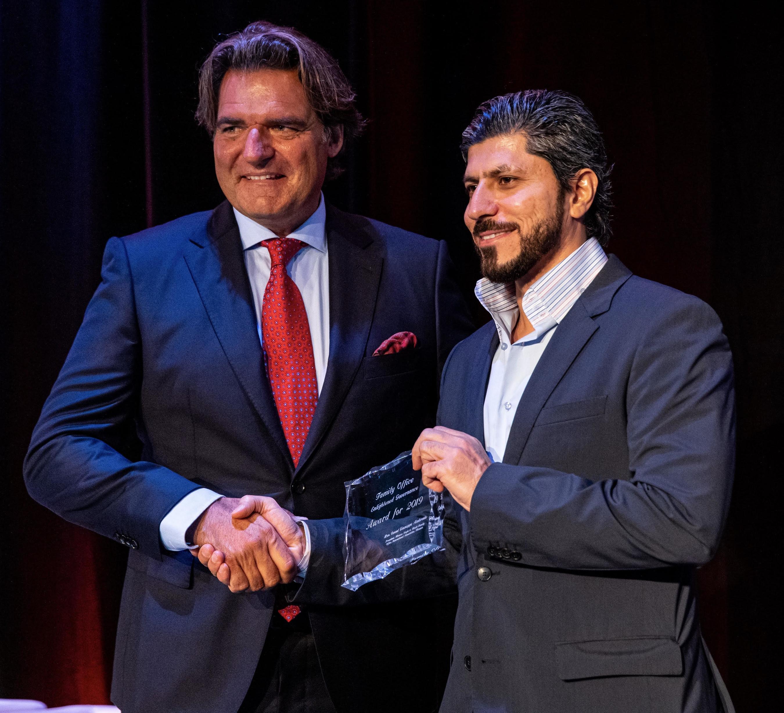 Mohamed Al Ali Presented With Family Office Enlightened