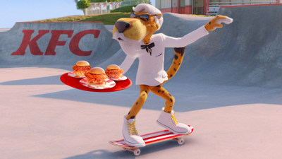 Chester Cheetah®, the most mischievous cat around, is the first brand icon and spokescheetah to portray KFC's famous founder, Colonel Harland Sanders.