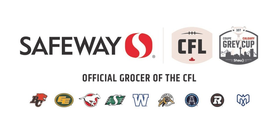 Safeway Partners with Canadian Football League to Launch Safeway #myCflfamily, Bringing Families Closer to the Game this Season (CNW Group/Sobeys Inc.)