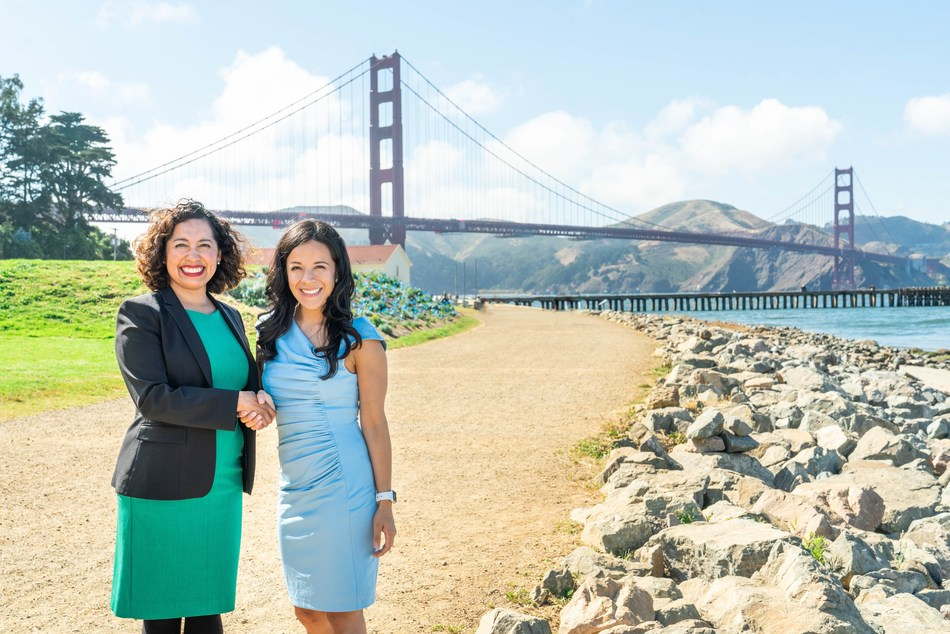 Sustainable Ocean Alliance and Bank of the West announce the launch of the SOA Ocean Leadership Council, a network of private sector leadership committed to preserving the health and sustainability of the global ocean. Pictured  L-R: Jenny Flores, Head of Corporate Social Responsibility at Bank of the West and Daniela V. Fernandez, Founder and CEO of Sustainable Ocean Alliance