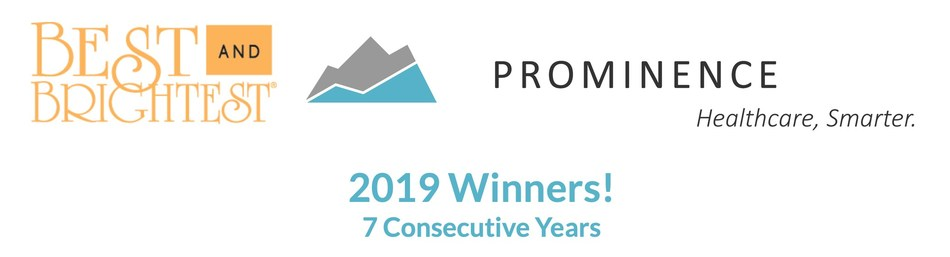 Prominence Advisors is named one of Chicago's Best and Brightest Companies for 2019, marking 7 consecutive years on the list!