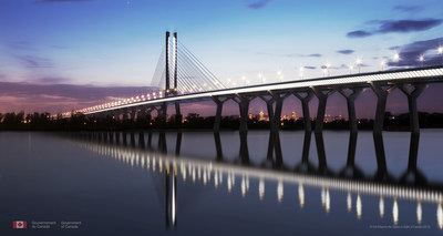 Image by Dissing+Weitling. Courtesy of Arup. Samuel De Champlain Bridge © Her Majesty the Queen in Right of Canada.