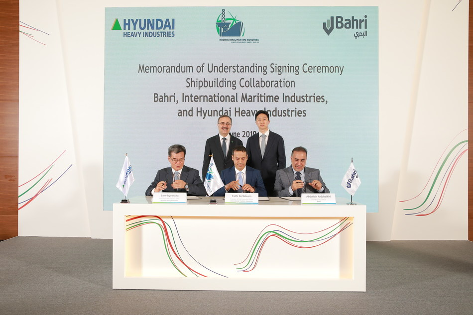 International Maritime Industries Signs MOU with HHI and