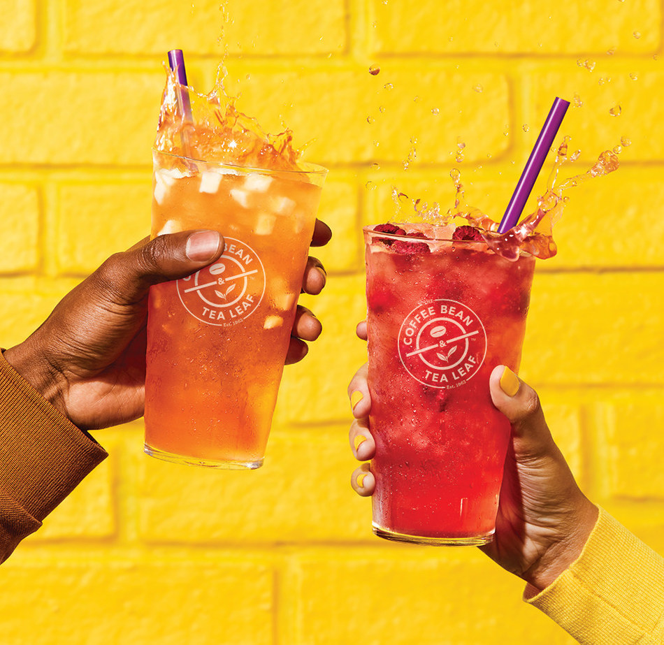 The Coffee Bean & Tea Leaf Introduces Lightened Blood Orange Cold Brew Tea and Lightened Mixed Berry Cold Brew Tea.
