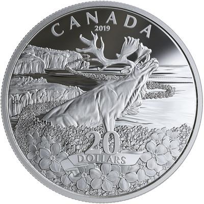 加拿大皇家造币厂发行勿忘草银币