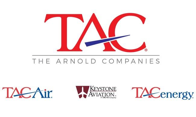 TAC - The Arnold Companies (TAC Air, Keystone Aviation, TACenergy) Logo (PRNewsfoto/TAC Air)