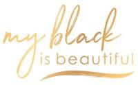 My Black is Beautiful logo, transparent