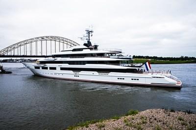 DreAMBoat delivery - Marquis Palmer 2 (PRNewsfoto/Oceanco)