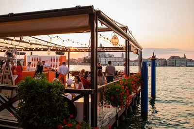 Aperol celebrates its 100th Birthday in Venice, bringing guests from around the world together to toast to the iconic orange aperitif
