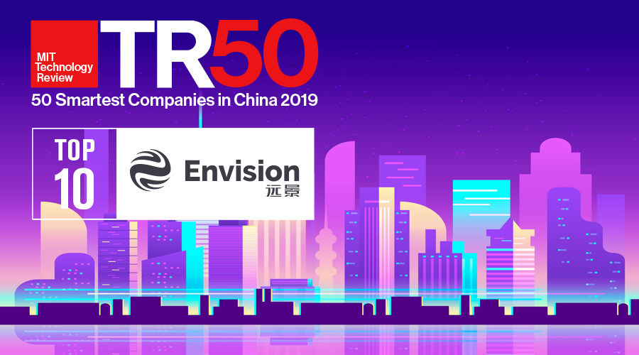 Envision Group Ranked Top 10 in the MIT Technology Review 50 Smartest Companies