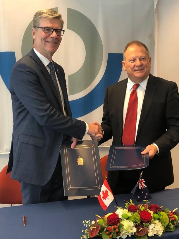CBSA Signs Mutual Recognition Arrangements with Hong Kong and New Zealand (CNW Group/Canada Border Services Agency)