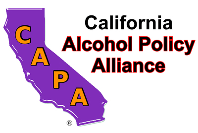 California Alcohol Policy Alliance (CAPA); AlcoholPolicyAlliance.org