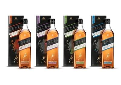 品尝尊尼获加黑方产地系列,探索苏格兰风味
