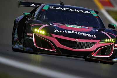 Trent Hindman, Mario Farnbacher and Justin Marks combined to take their MSR Acura NSX GT3 Evo to victory today at Watkins Glen International Raceway.