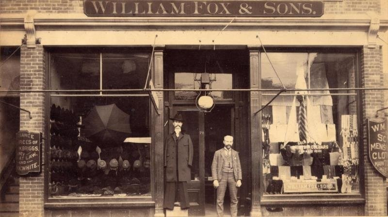 William Fox and Sons in 1895