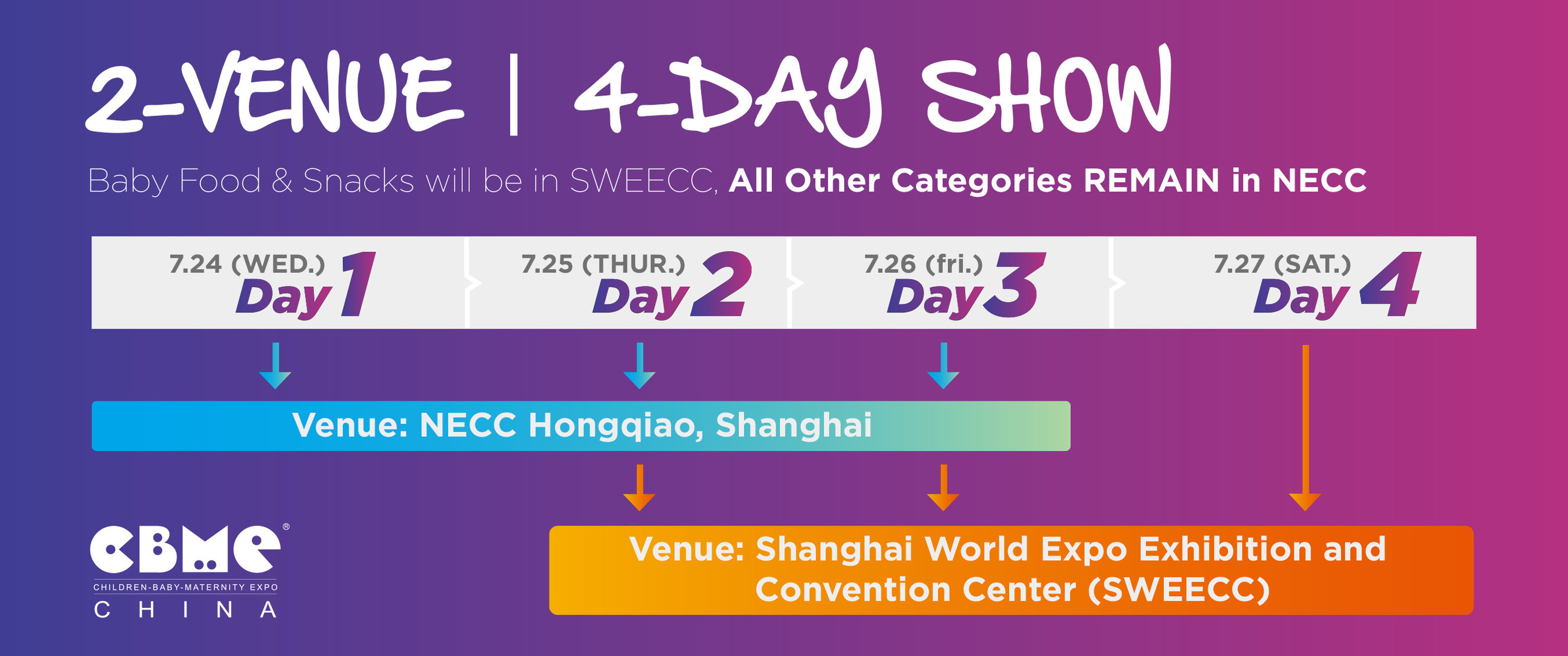 The World S Largest Children Baby And Maternity Expo Is Coming Soon Driving The Creative New Future Of Cbme China 2019