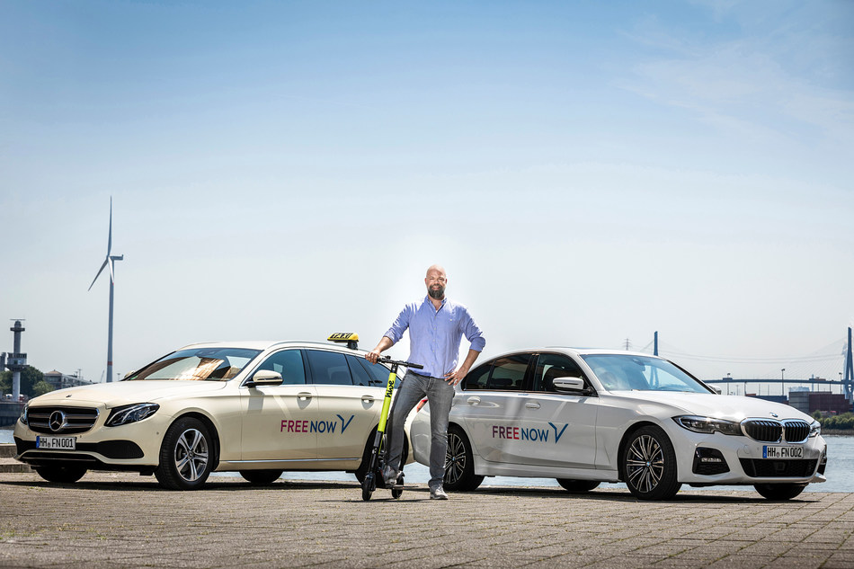 FREE NOW Europe CEO Eckart Diepenhorst wants to modernize urban mobility with his Taxi, PHV and scooter fleet