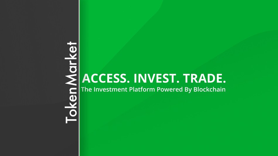 TokenMarket announces launch date for its upcoming STO (PRNewsfoto/TokenMarket)