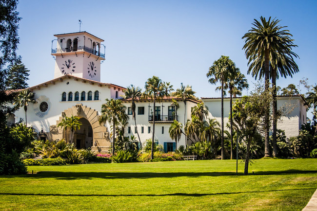 The magnificent Santa Barbara County Courthouse is reportedly the most photographed courthouse in the world.