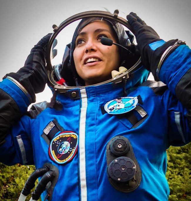 Yvette Gonzalez, Director of External Media with Out Astronaut, is a Human Resilience expert, Astropreneur, and Project PoSSUM Scientist-Astronaut Candidate. Yvette aims to be one of many future Native Americans to conduct research in space and supports space settlement education, science, technological efforts, missions, and policy dialogue.