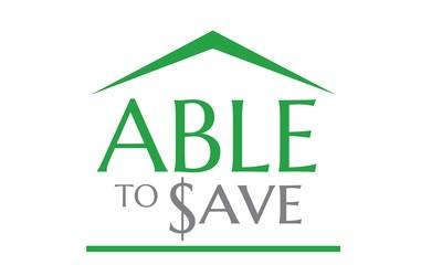 #ABLEtoSave Logo (PRNewsfoto/National Disability Institute)