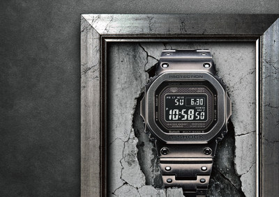 00df10223a14 Casio G-SHOCK Announces Retail Availability Of Latest Full-Metal Timepiece  With Black Aged IP Treatment