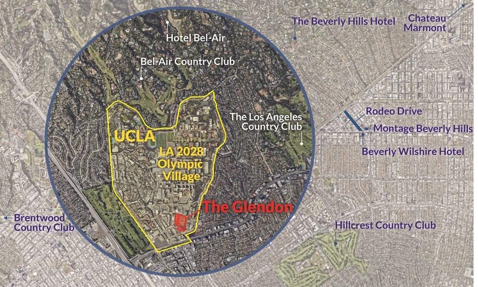 The Glendon Map