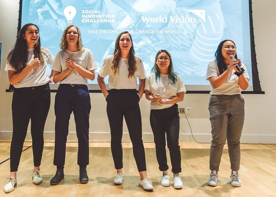 Virtuous Waste, winners of the 2019 World Vision Social Innovation Challenge (CNW Group/World Vision Canada)