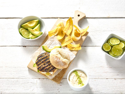 Stirred by her Haitian heritage and inspired by her father, New York City chef and entrepreneur Vanessa Cantave of Yum Yum Catering & Events is serving up the Spiced Turkey Burger with Avocado.