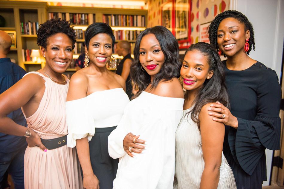Co-founder of 25 Black Women in Beauty, Cara Sabin; NBC NY Live Jacque Reid; Mega Infuencer Kahlana Barfield Brown; The Lip Bar founder Melissa Butler; and Ulta Sr. Director Karla Davis