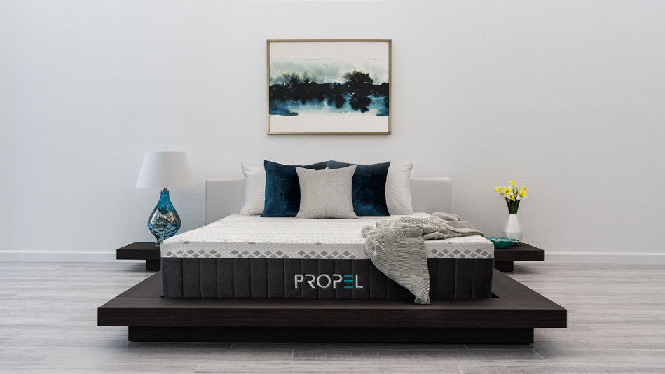 A smarter sleep to fuel your life, the Propel by Brooklyn Bedding is a hybrid mattress featuring an elite, European performance fabric with advanced Upcycle™ technology. The Propel is one of several niche sleep solutions launched by the Phoenix-based manufacturer in the past year.