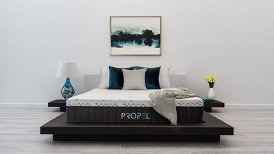 Brooklyn Bedding Launches Propel With Upcycle A Smarter Sleep To Fuel Your Life