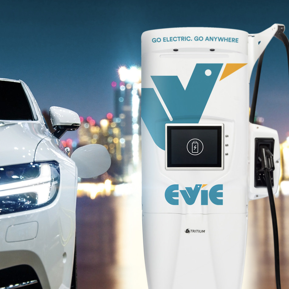 Using EV Connect's EV Cloud platform, Evie Networks will deploy and manage a network of 42 sites and over 80 new ultra-fast Tritium charging stations in their first phase network, aimed at connecting Australia's major capital cities