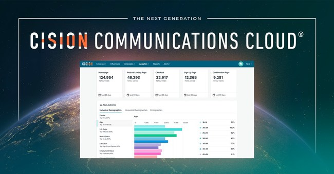 Cision? Unveils the Next Generation Cision Communications Cloud?, Designed to Empower Communications Teams