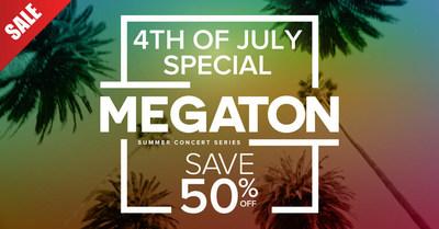 """Mega 96.3FM anuncia uno de los eventos más anticipados del verano con """"Megaton Summer Concert Series"""""""