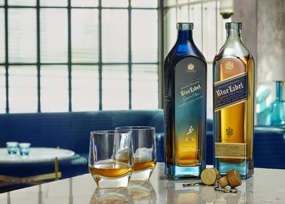 Presentación de la edición limitada de Johnnie Walker Blue Label Ghost and Rare Glenury Royal